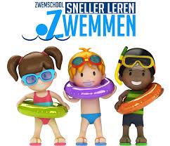 logo sneller leren zwemmen