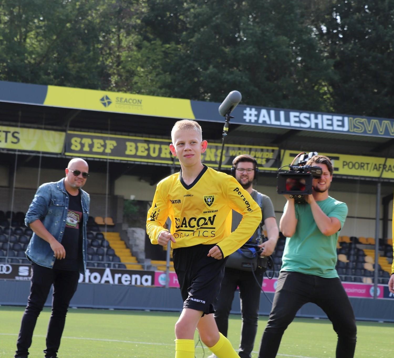 Cameraploeg NPO volgt Bram in eredivisie G-voetbal